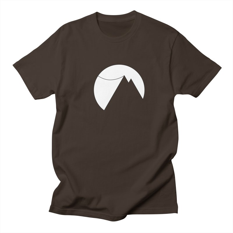 Slacklife Logo White Men's Regular T-Shirt by Slack Shop