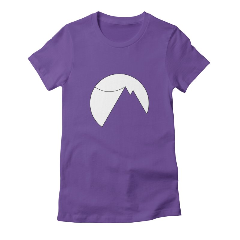 Slacklife Logo White Women's Fitted T-Shirt by Slack Shop