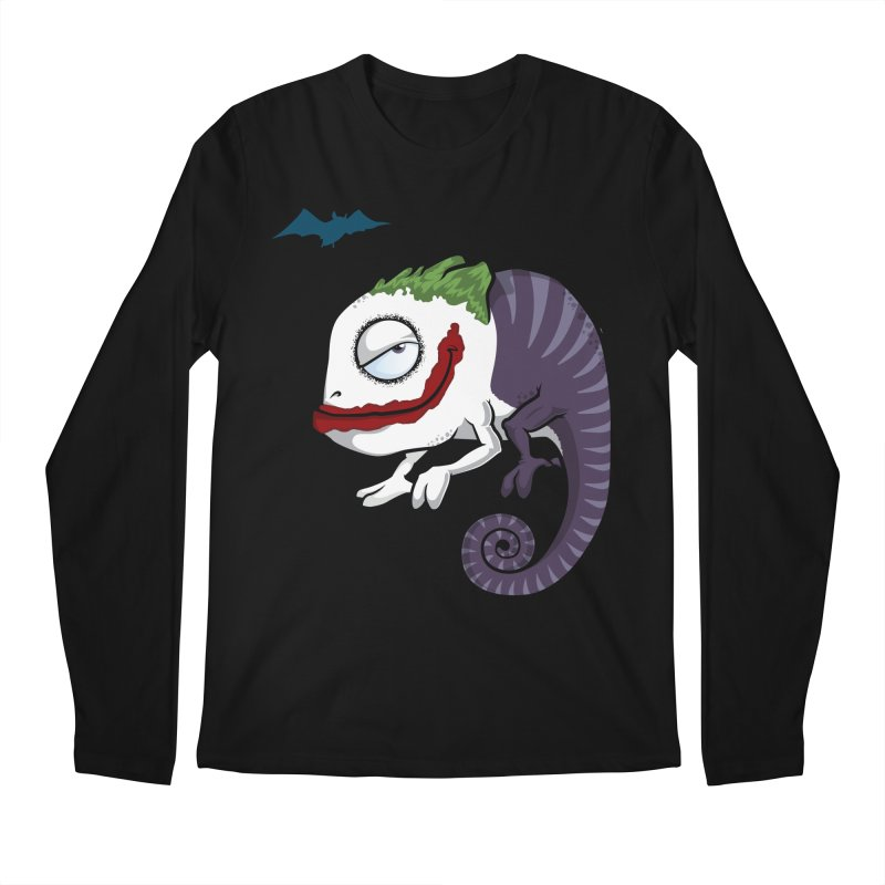 The Joker in Men's Longsleeve T-Shirt Black by slamhm's Artist Shop