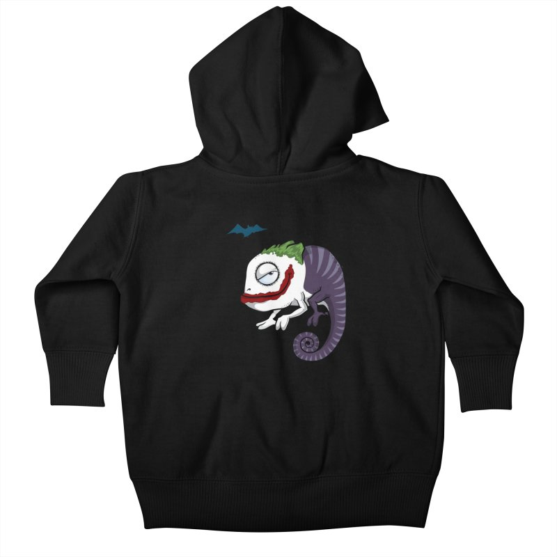 The Joker Kids Baby Zip-Up Hoody by slamhm's Artist Shop