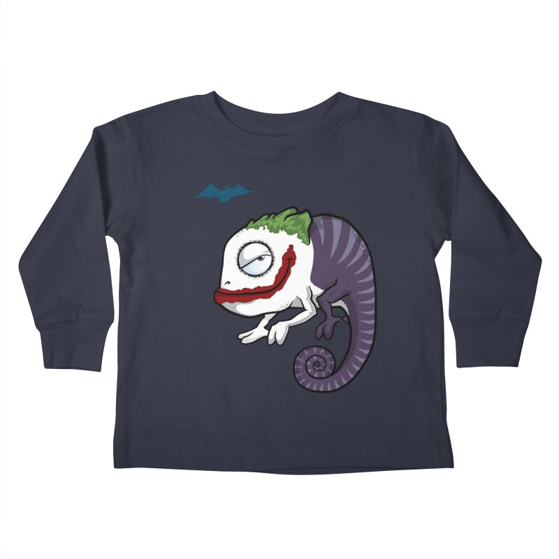 The Joker Kids Toddler Longsleeve T-Shirt by slamhm's Artist Shop