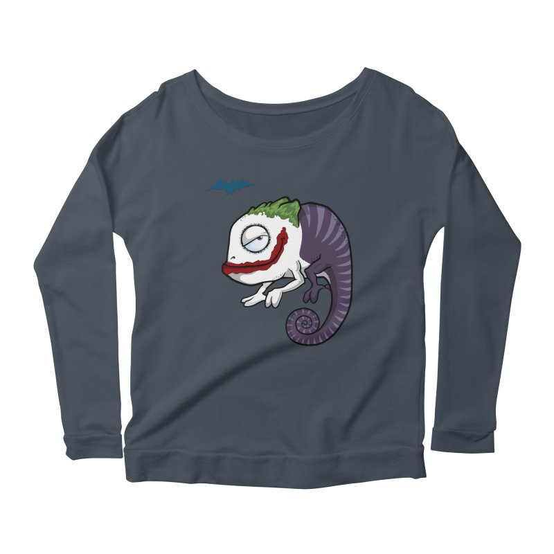 The Joker Women's Scoop Neck Longsleeve T-Shirt by slamhm's Artist Shop