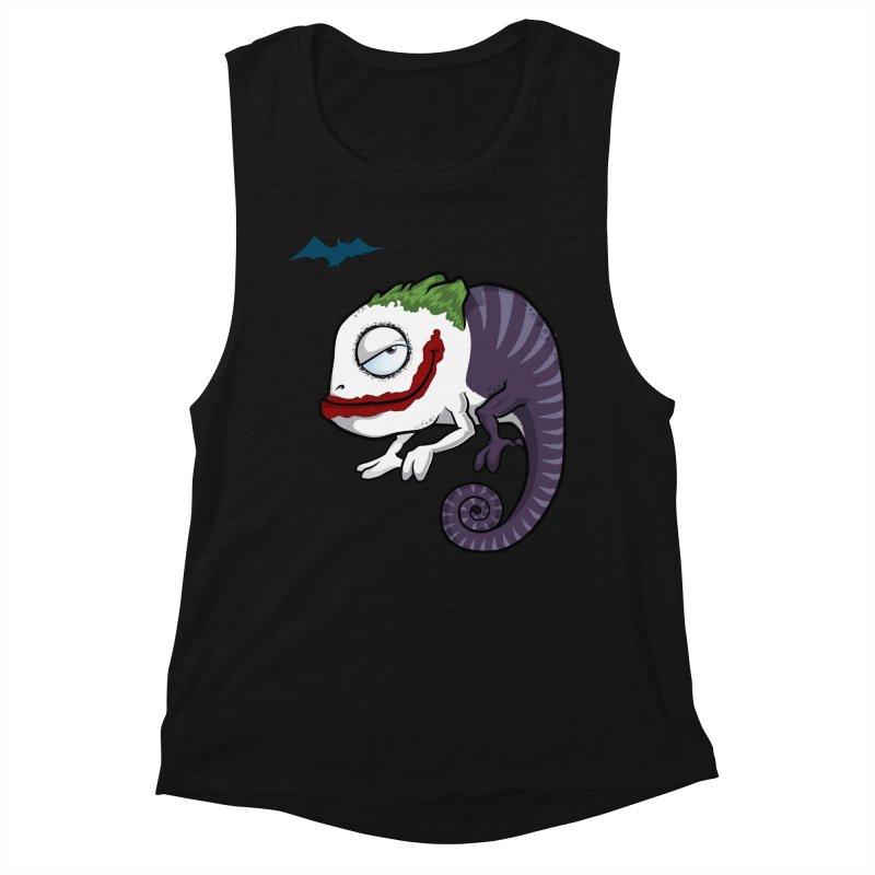 The Joker Women's Muscle Tank by slamhm's Artist Shop