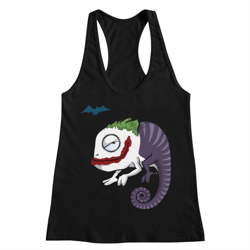 The Joker Women's Racerback Tank by slamhm's Artist Shop