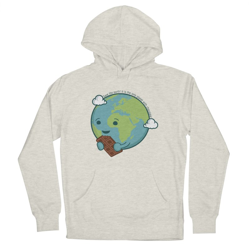 Save The Earth Men's French Terry Pullover Hoody by slamhm's Artist Shop