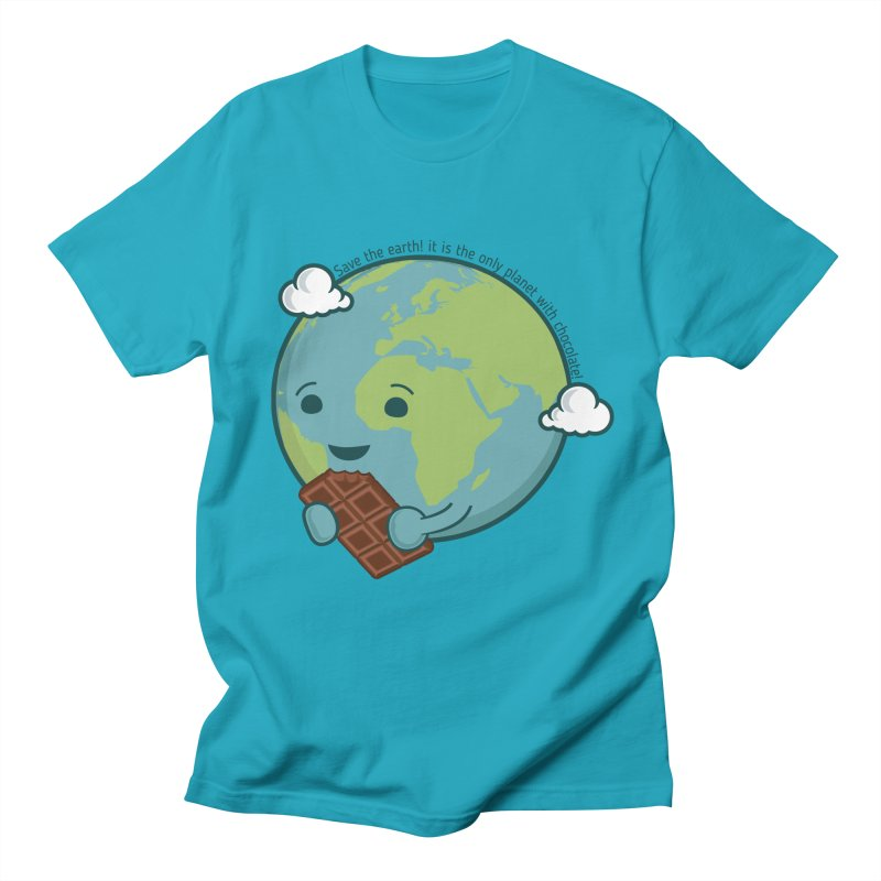 Save The Earth Men's T-shirt by slamhm's Artist Shop