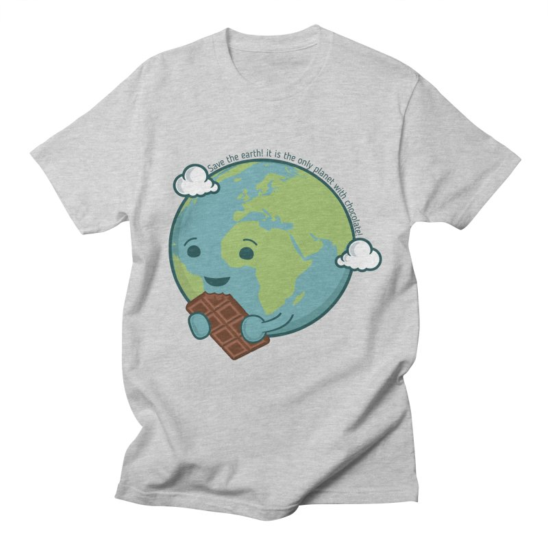 Save The Earth Men's Regular T-Shirt by slamhm's Artist Shop
