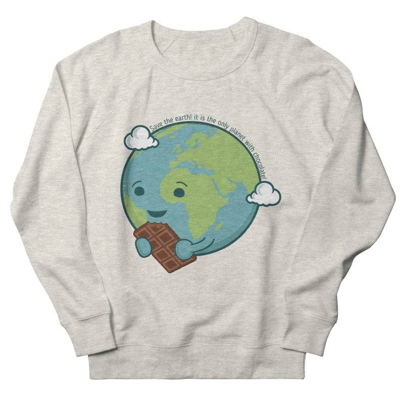 Save The Earth Women's French Terry Sweatshirt by slamhm's Artist Shop