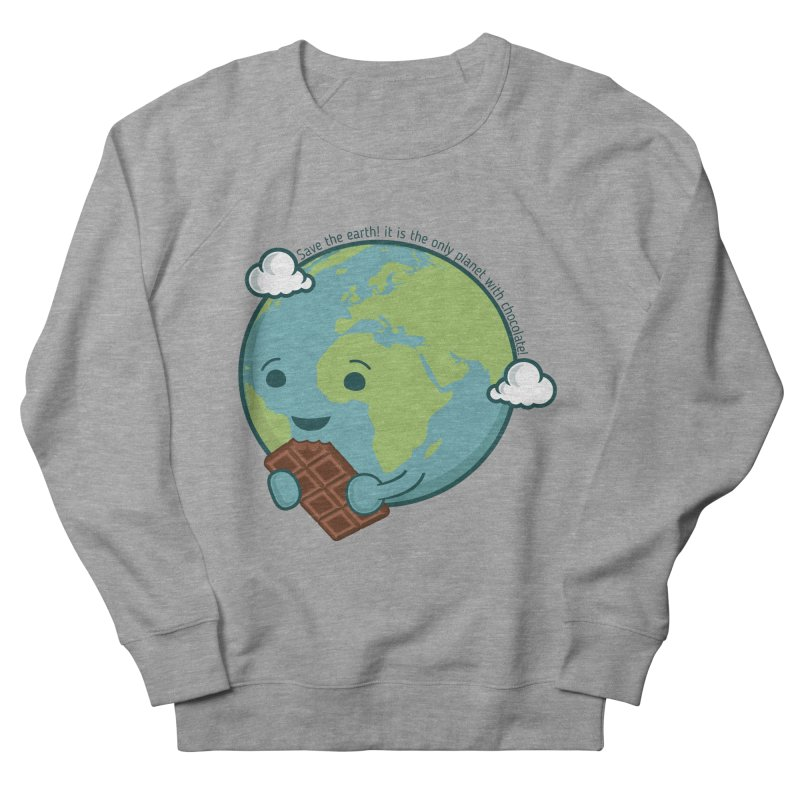 Save The Earth Men's French Terry Sweatshirt by slamhm's Artist Shop