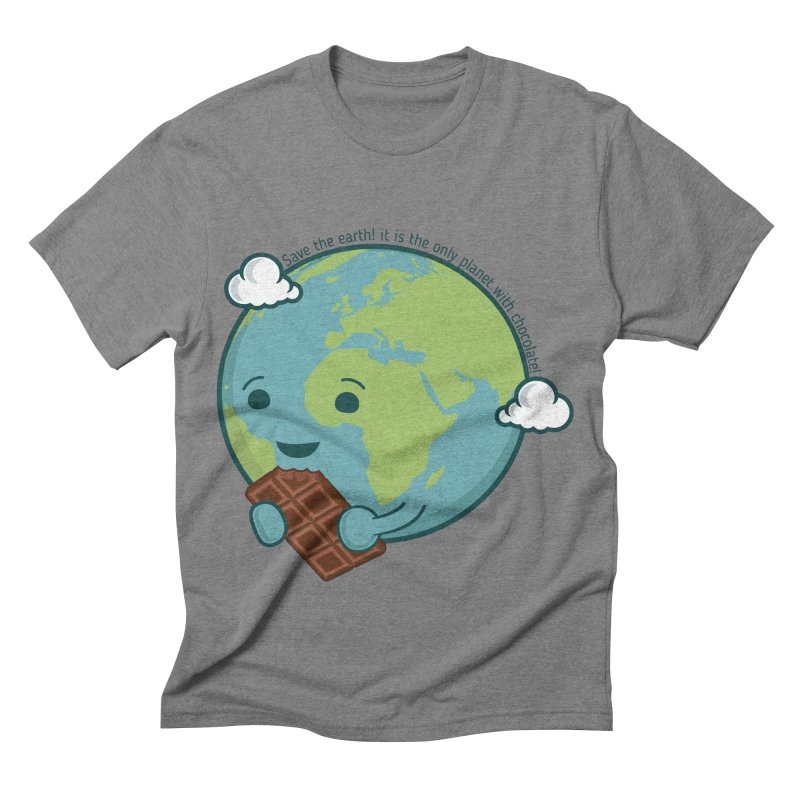 Save The Earth Men's Triblend T-shirt by slamhm's Artist Shop