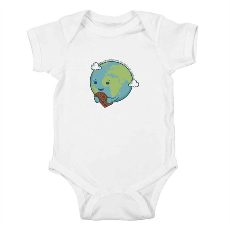 Save The Earth Kids Baby Bodysuit by slamhm's Artist Shop