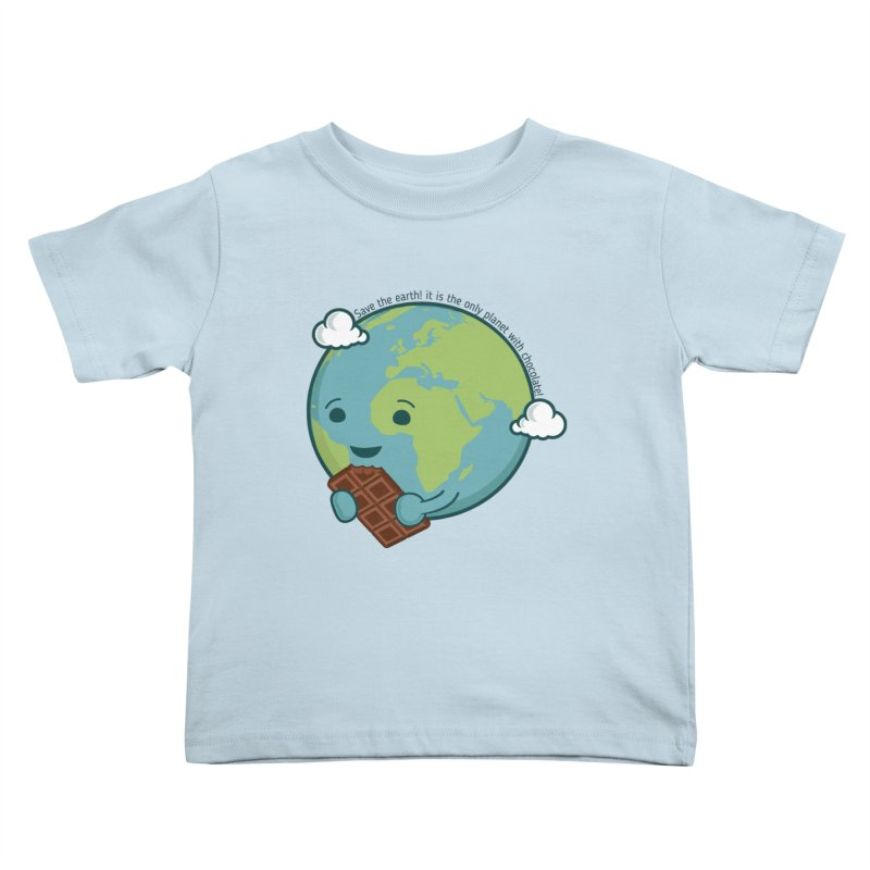 Save The Earth Kids Toddler T-Shirt by slamhm's Artist Shop