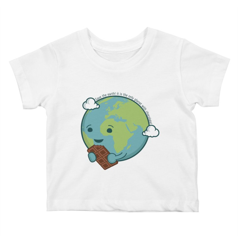 Save The Earth Kids Baby T-Shirt by slamhm's Artist Shop