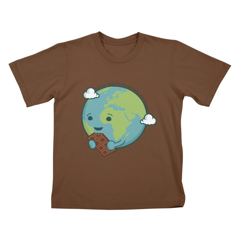 Save The Earth Kids T-Shirt by slamhm's Artist Shop