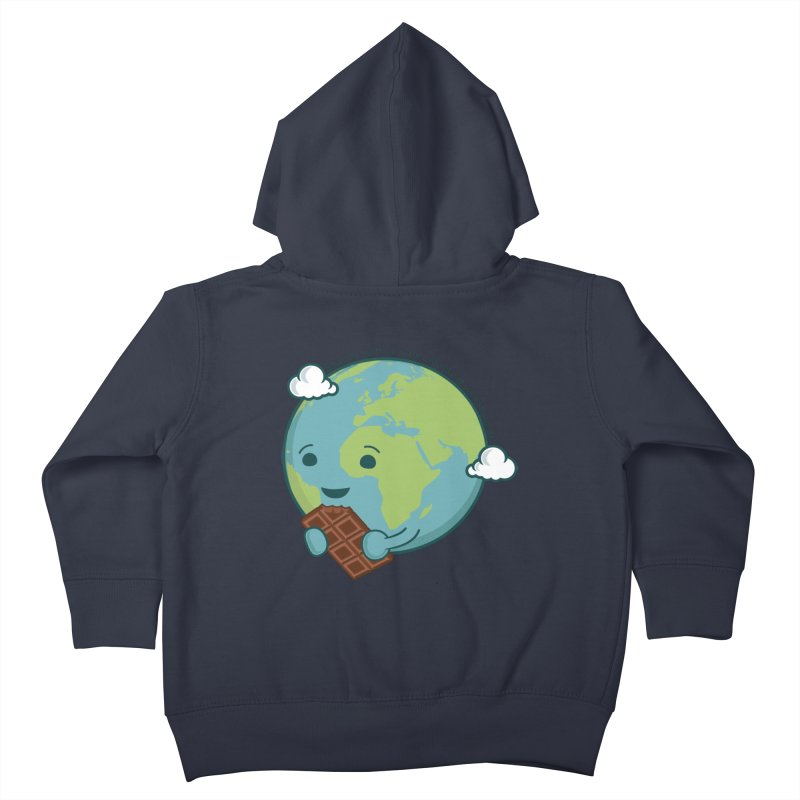 Save The Earth Kids Toddler Zip-Up Hoody by slamhm's Artist Shop