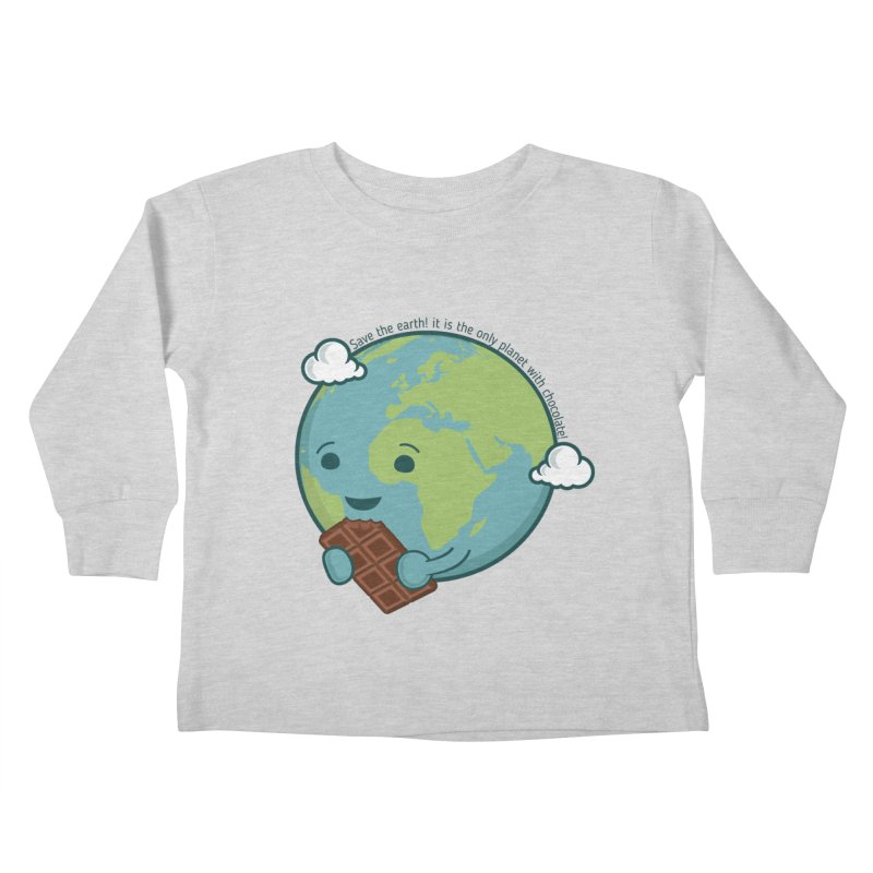Save The Earth Kids Toddler Longsleeve T-Shirt by slamhm's Artist Shop