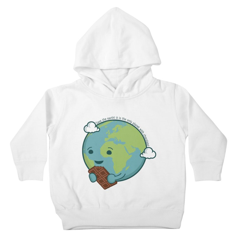 Save The Earth Kids Toddler Pullover Hoody by slamhm's Artist Shop