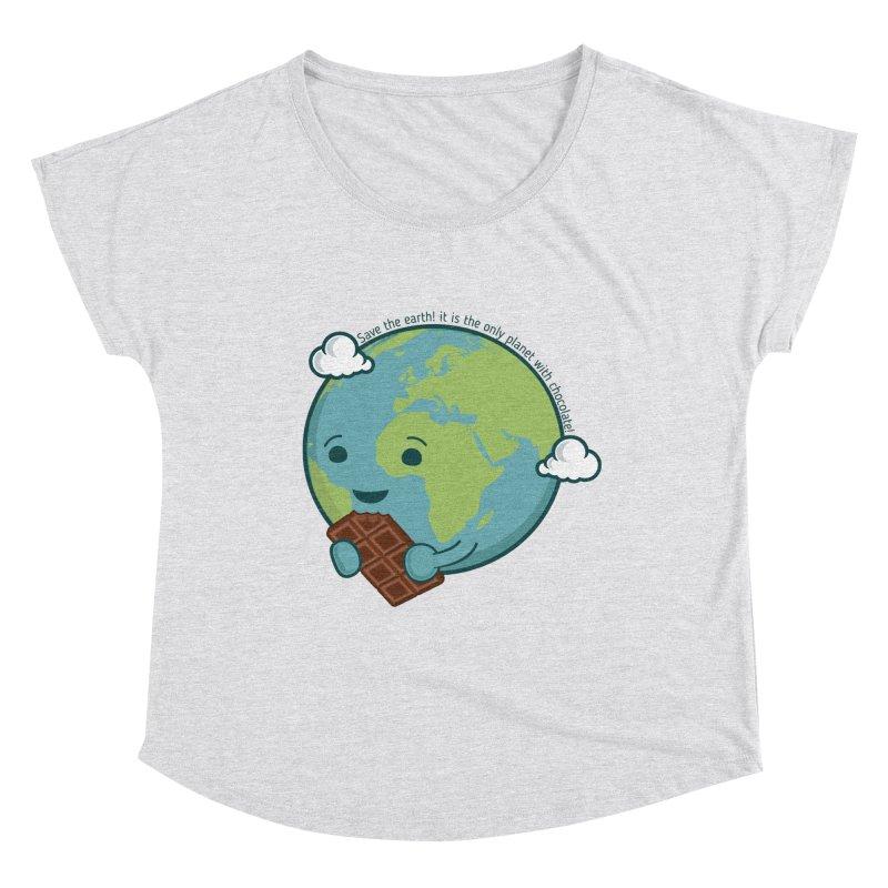 Save The Earth Women's Dolman Scoop Neck by slamhm's Artist Shop