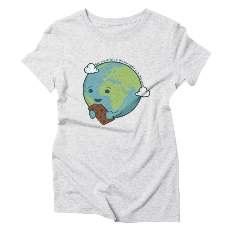 Save The Earth Women's Triblend T-shirt by slamhm's Artist Shop