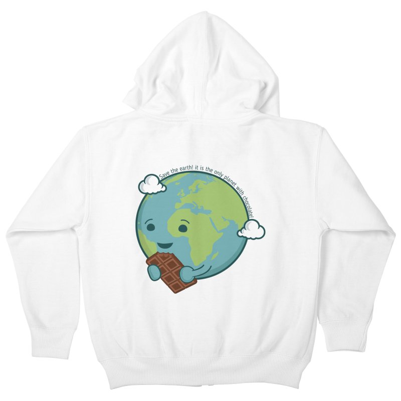 Save The Earth Kids Zip-Up Hoody by slamhm's Artist Shop