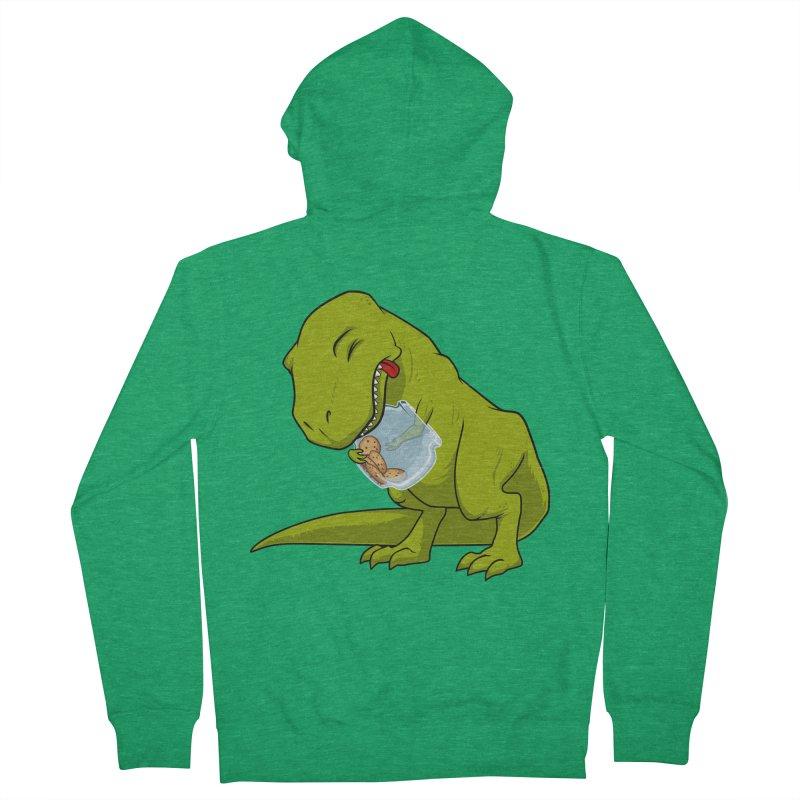 T-Rex and Cookies Jar Women's Zip-Up Hoody by slamhm's Artist Shop