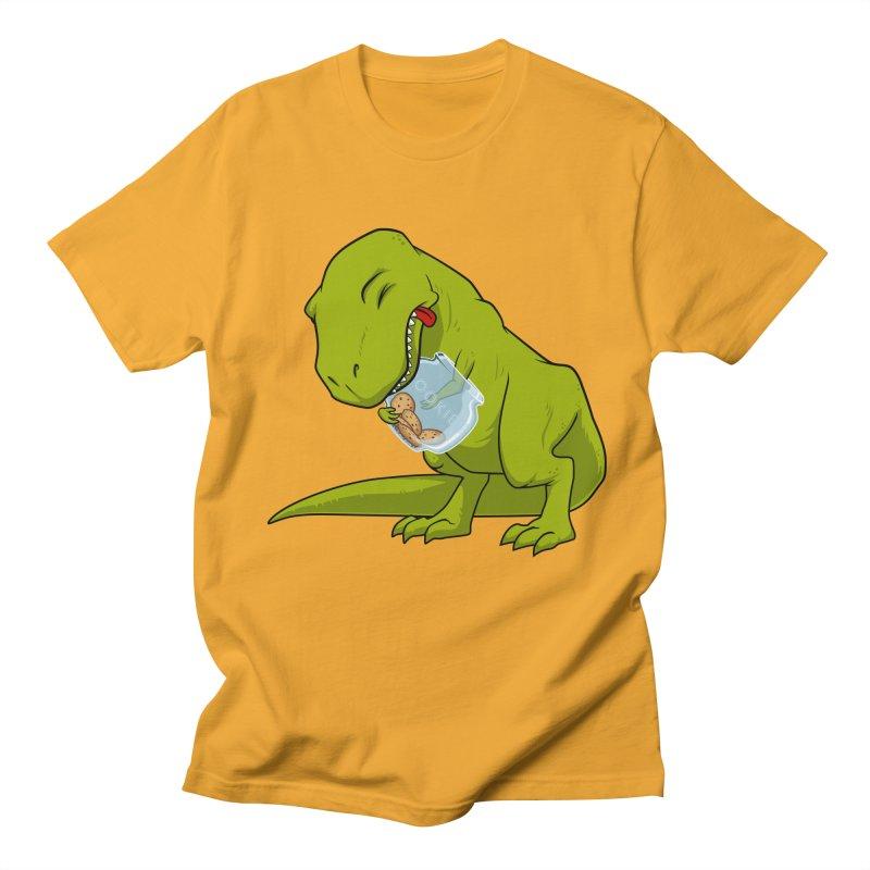T-Rex and Cookies Jar Men's T-Shirt by slamhm's Artist Shop