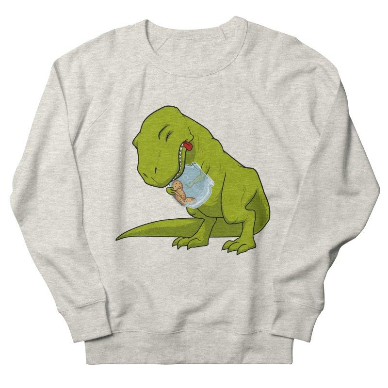 T-Rex and Cookies Jar Men's Sweatshirt by slamhm's Artist Shop