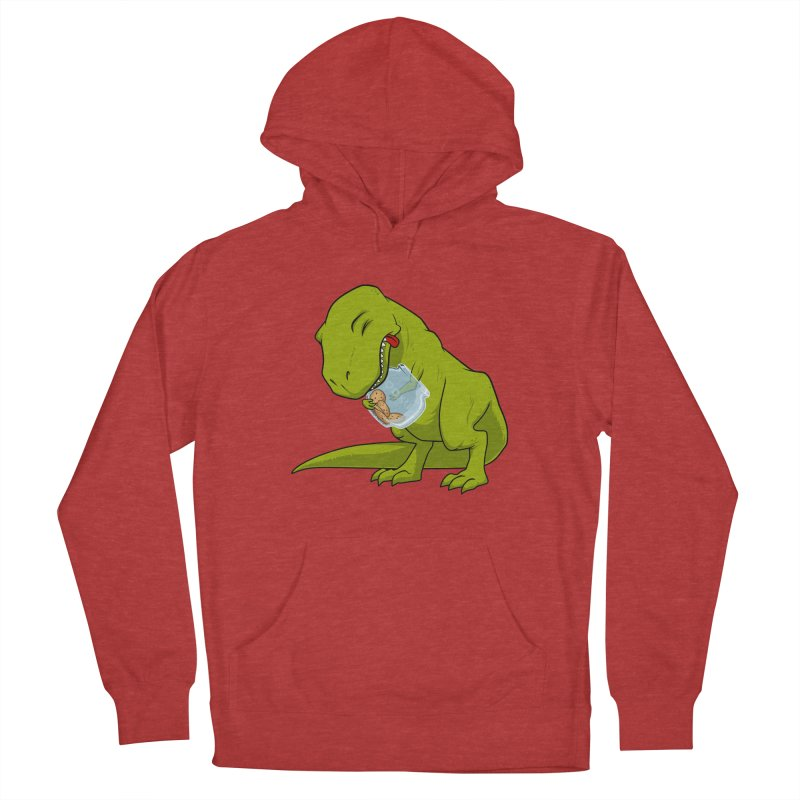 T-Rex and Cookies Jar Women's French Terry Pullover Hoody by slamhm's Artist Shop