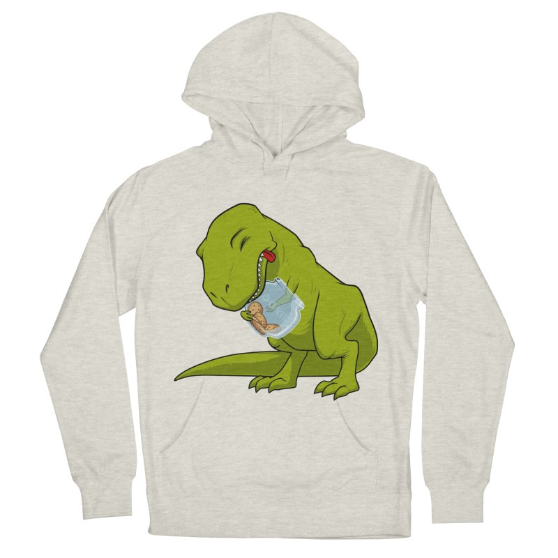 T-Rex and Cookies Jar Men's French Terry Pullover Hoody by slamhm's Artist Shop