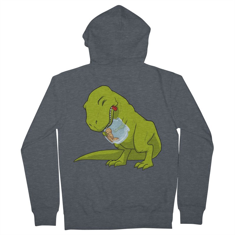 T-Rex and Cookies Jar Women's French Terry Zip-Up Hoody by slamhm's Artist Shop