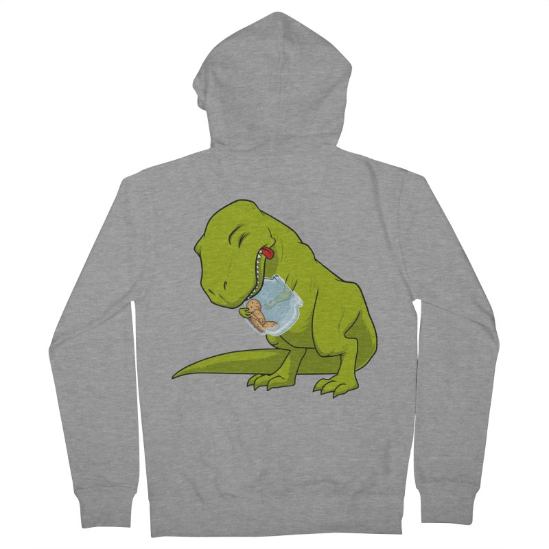 T-Rex and Cookies Jar Men's Zip-Up Hoody by slamhm's Artist Shop