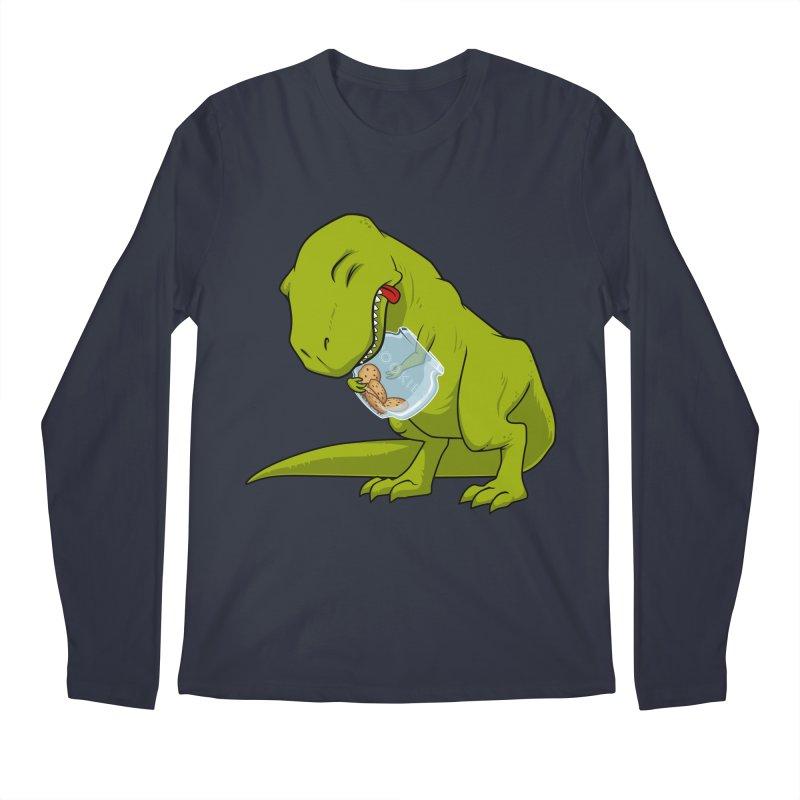 T-Rex and Cookies Jar Men's Longsleeve T-Shirt by slamhm's Artist Shop
