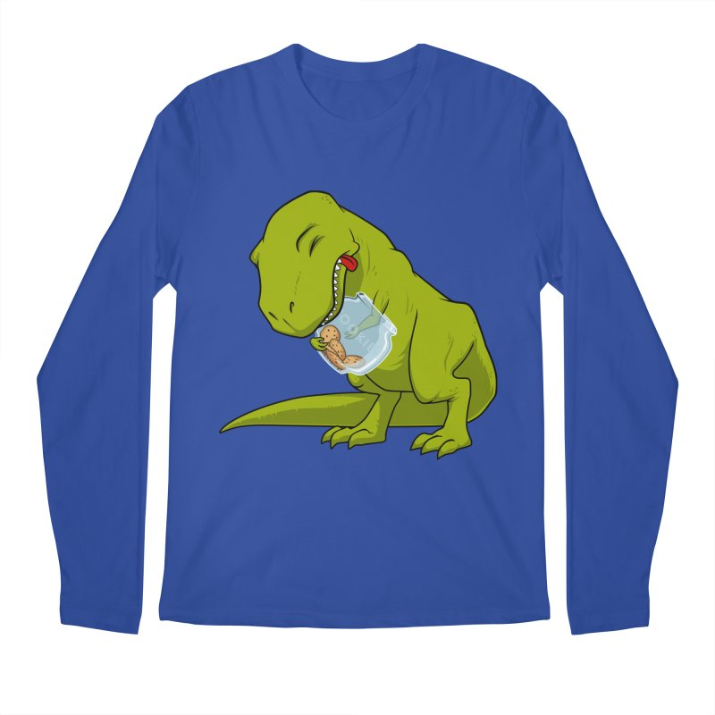 T-Rex and Cookies Jar Men's Regular Longsleeve T-Shirt by slamhm's Artist Shop