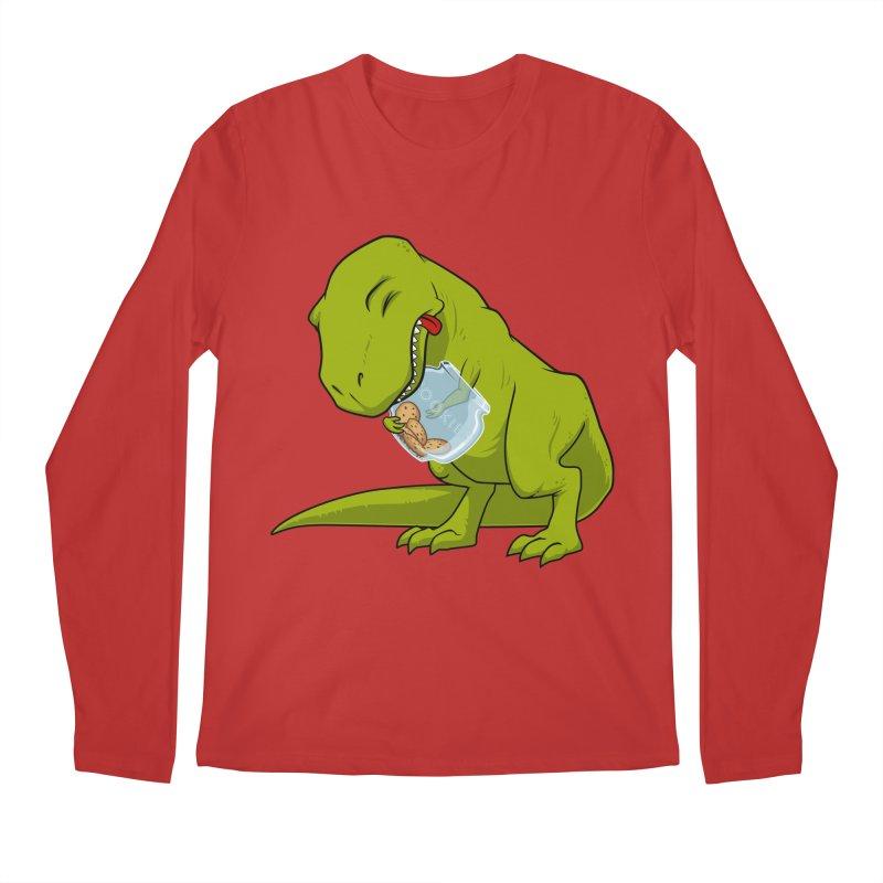 T-Rex and Cookies Jar Men's Regular Longsleeve T-Shirt by slamhm's Artist Shop