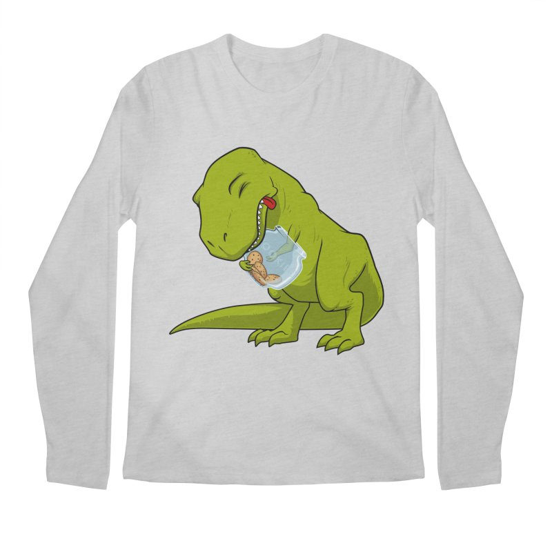 T-Rex and Cookies Jar Men's Longsleeve T-Shirt by slamhm's Artist Shop