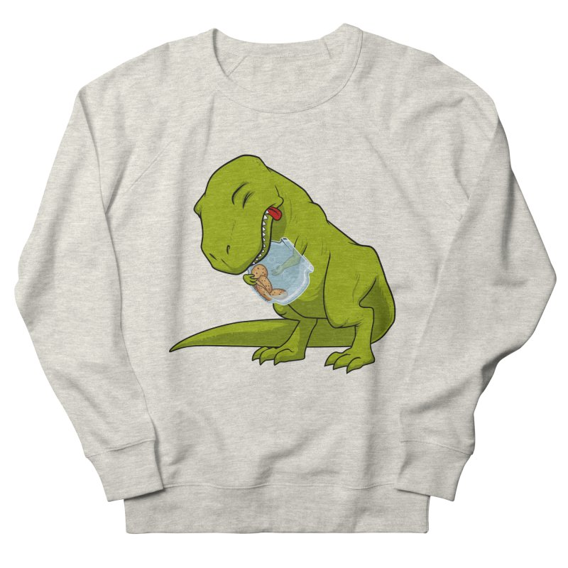 T-Rex and Cookies Jar Women's French Terry Sweatshirt by slamhm's Artist Shop