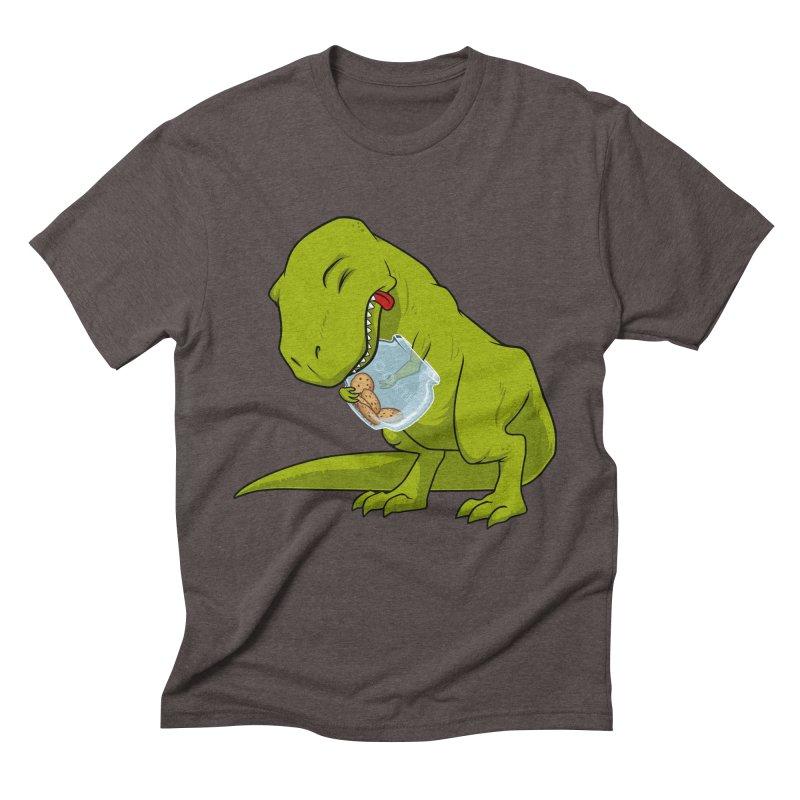 T-Rex and Cookies Jar Men's Triblend T-Shirt by slamhm's Artist Shop