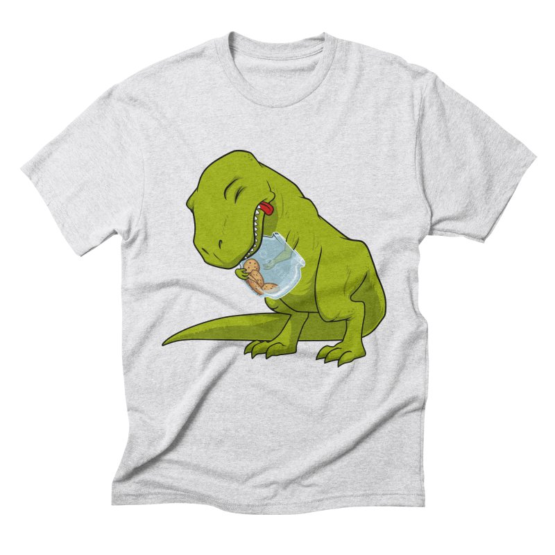 T-Rex and Cookies Jar Men's Triblend T-Shirt by slamhm's Artist Shop