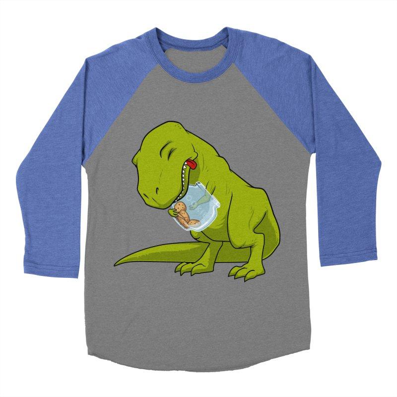 T-Rex and Cookies Jar Women's Baseball Triblend Longsleeve T-Shirt by slamhm's Artist Shop