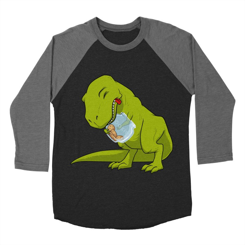 T-Rex and Cookies Jar Women's Baseball Triblend Longsleeve T-Shirt by slamhm's Artist Shop