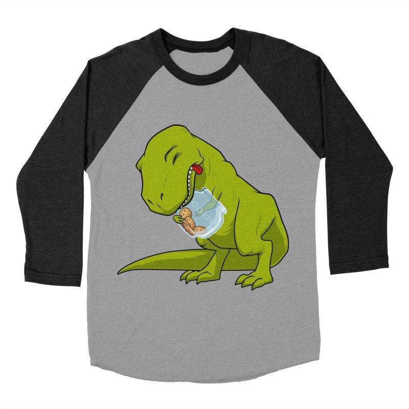T-Rex and Cookies Jar Women's Baseball Triblend T-Shirt by slamhm's Artist Shop