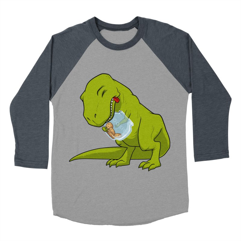 T-Rex and Cookies Jar Women's Baseball Triblend T-Shirt by slamhm's Artist Shop