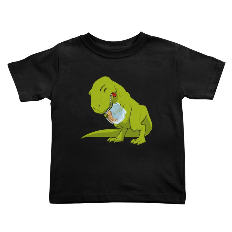T-Rex and Cookies Jar Kids Toddler T-Shirt by slamhm's Artist Shop