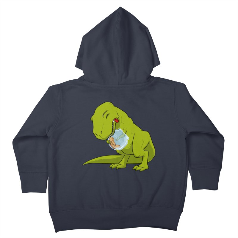T-Rex and Cookies Jar Kids Toddler Zip-Up Hoody by slamhm's Artist Shop