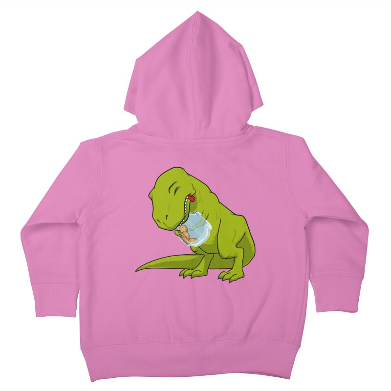 T-Rex and Cookies Jar Kids Toddler Zip-Up Hoody by slamhm's Artist Shop
