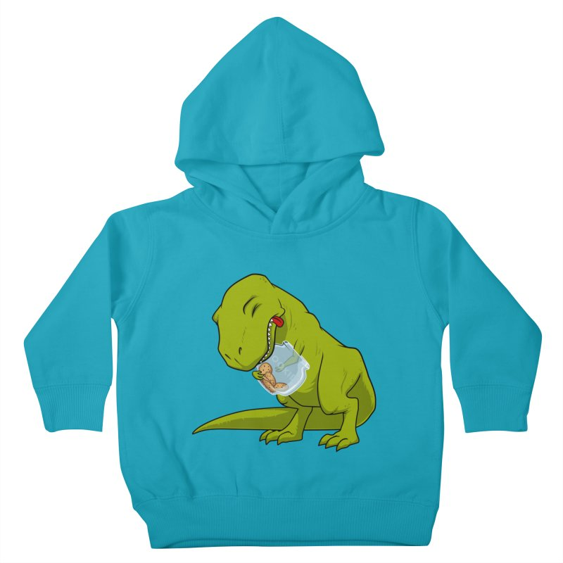 T-Rex and Cookies Jar Kids Toddler Pullover Hoody by slamhm's Artist Shop