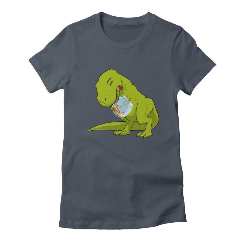 T-Rex and Cookies Jar Women's T-Shirt by slamhm's Artist Shop