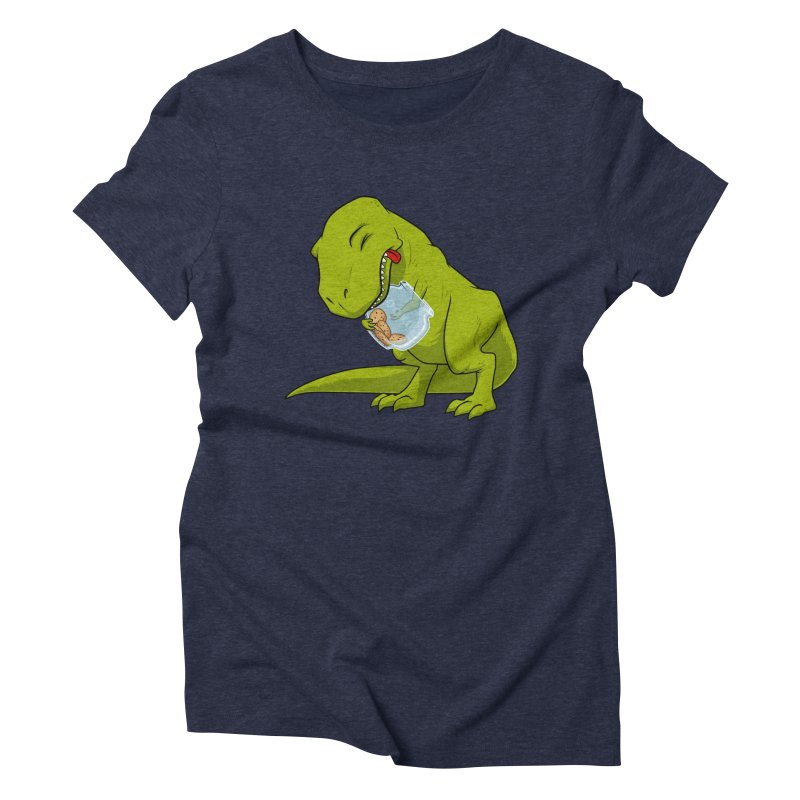 T-Rex and Cookies Jar Women's Triblend T-shirt by slamhm's Artist Shop