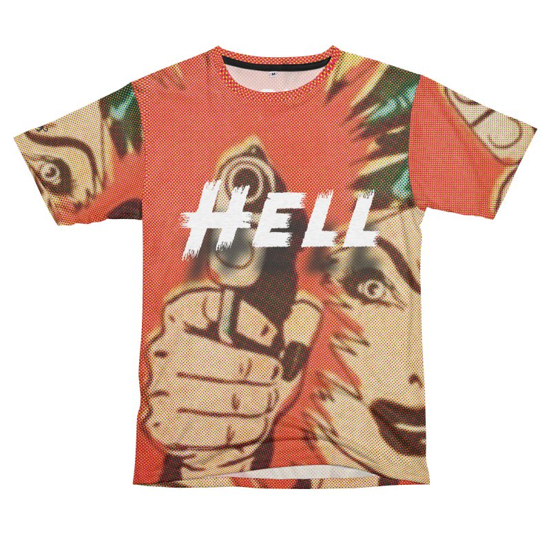 WADIDONOW?!? Men's French Terry T-Shirt Cut & Sew by Slap Happy Ultd Emporium