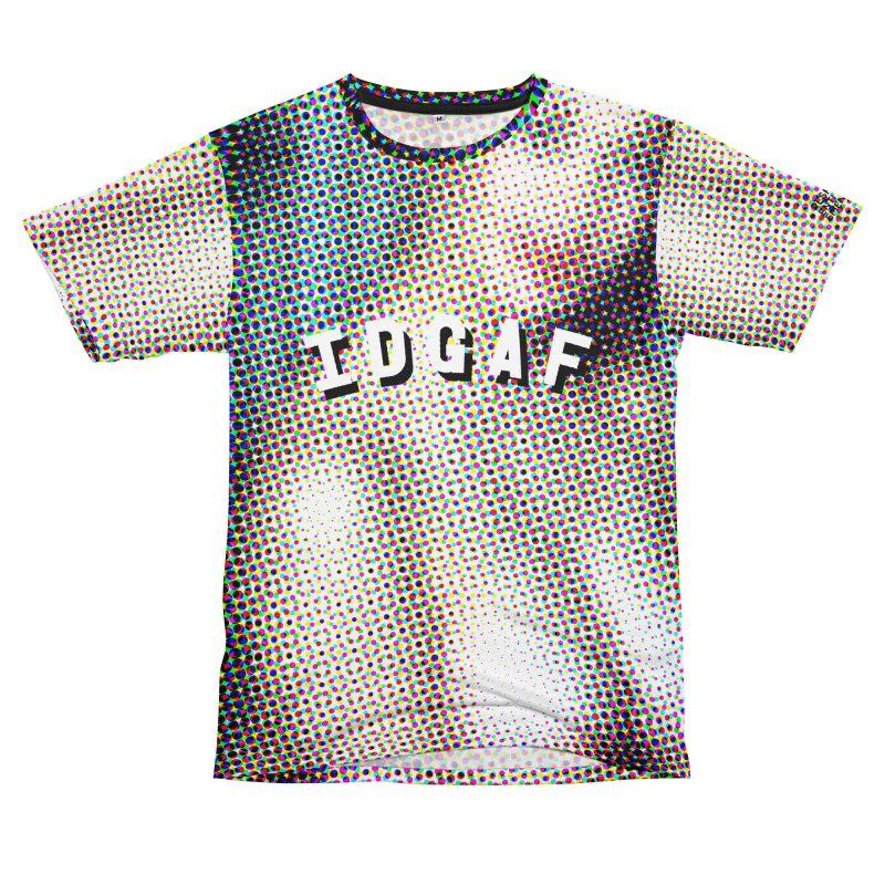 IDGAF dudes Cut & Sew by shuSHOP